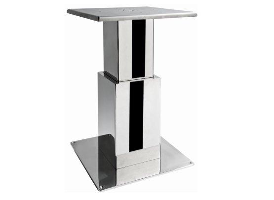 Supporto tavolo elettrico a due stadi quadrati