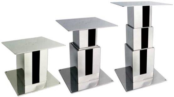 Supporto tavolo elettrico quadrato