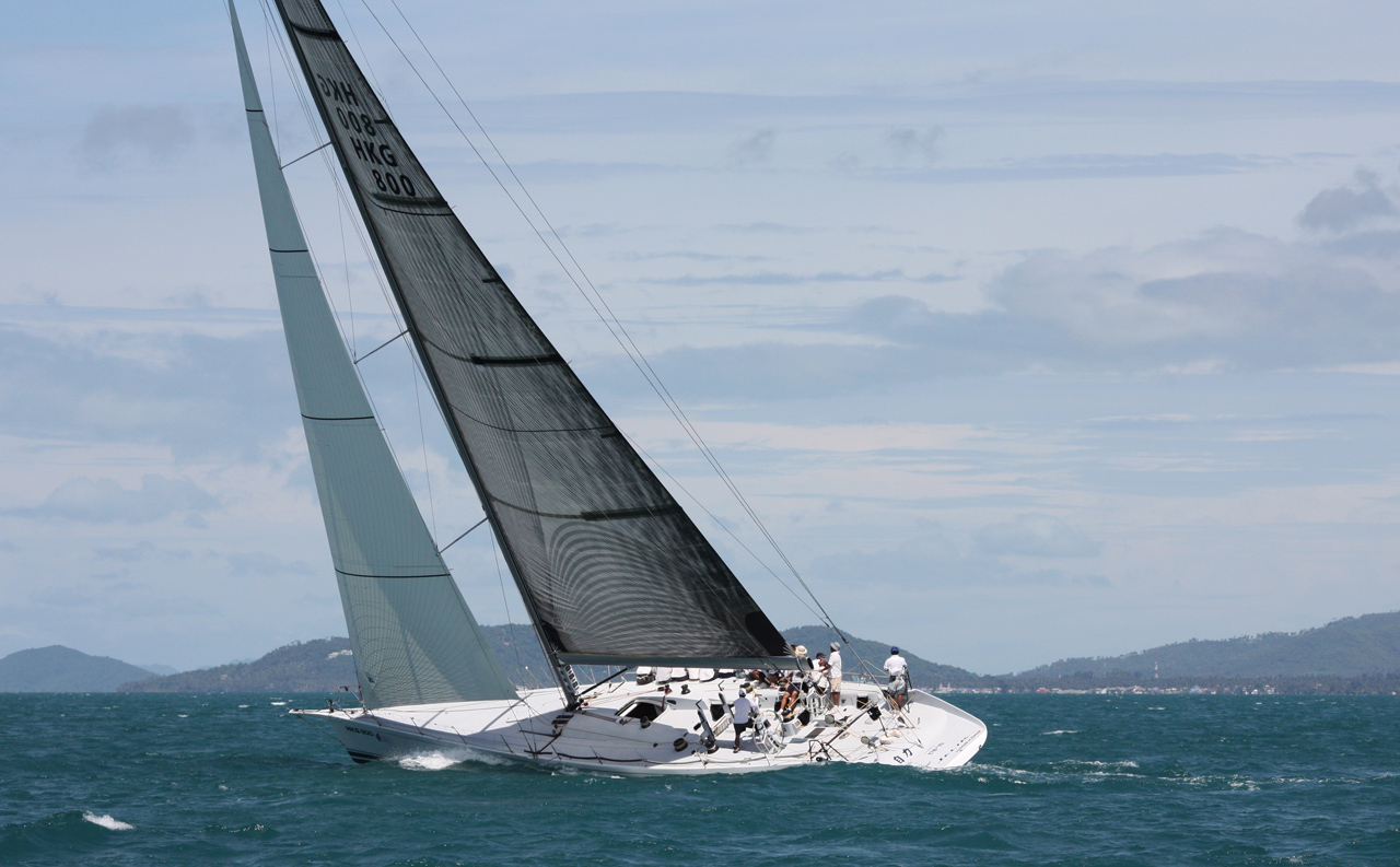 International crews heading to Samui for the spectacular sailing conditions and competition at  the Samui Regatta, and to enjoy Samui Island hospitality. Photo by Marine Scene Asia.