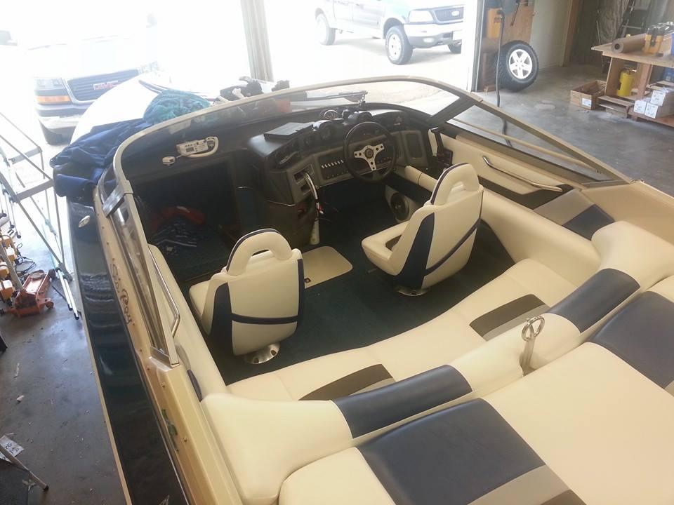 Custom Marine Interiors Upholstery And Carpeting Rear