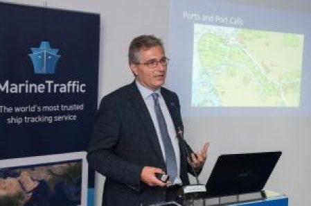 MarineTraffic Partner Argyris Stasinakis.