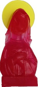 Little virgin nº13. Resina de poliéster, pigmentos y metacrilato. 12x6x4 cm. 2019