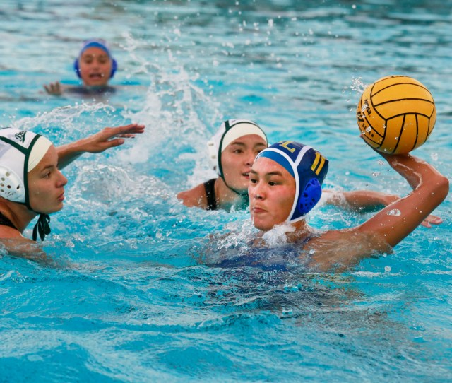 Terra Linda Nikki Jasko Takes A Shot On Goal During The First Round Of The North Coast Section Division Ii Girls Water Polo Playoffs Against St Patrick St