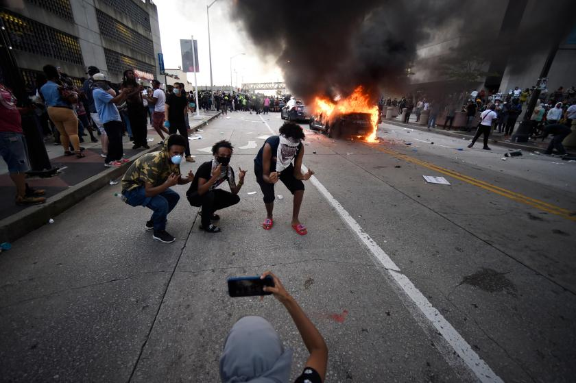 Protests, some violent, spread in wake of George Floyd death ...