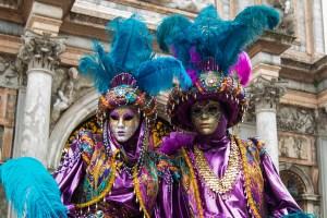 Maschere al Carnevale di Venezia 2017