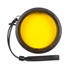 Ikelite 6441.16 Gelber Fluoreszenzfilter für Ports mit 3,9 Zoll Durchmesser