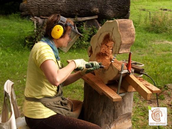 Photo Professionelle Maschinen zur Holzbearbeitung stehen in den Kreativkursen bereit!