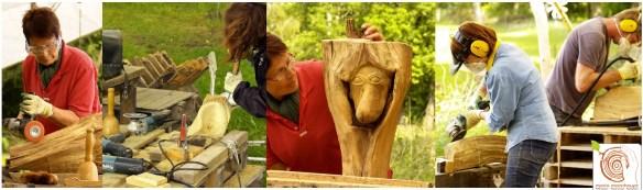 Der Bildhauerkurs bei Mario Mannhaupt liegt nur 50km von Berlin.
