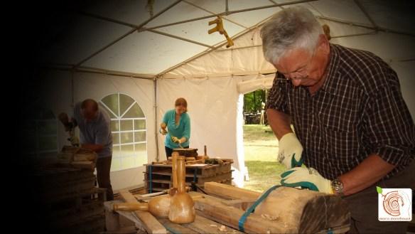 Holz kreativ gestalten, am besten auf dem Kreativplatz Luckenwalde