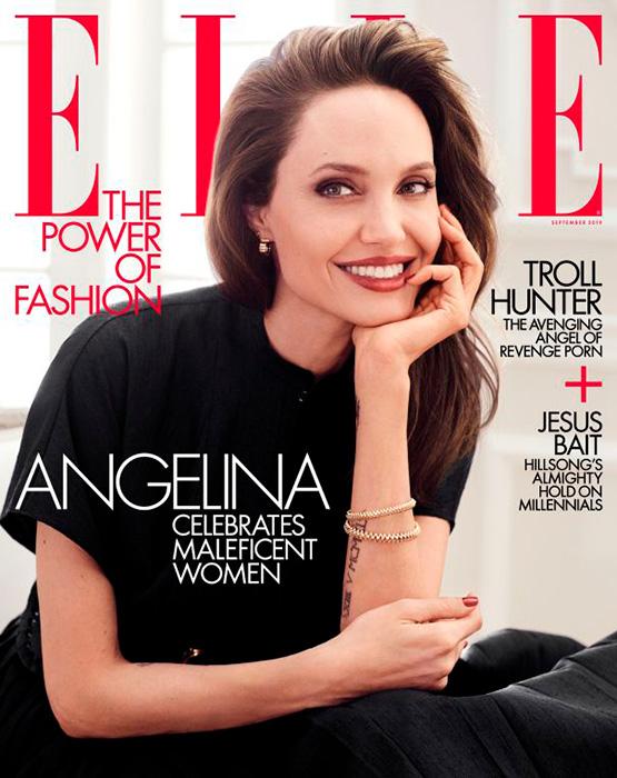 Angelina Jolie  #septemberissue 2019