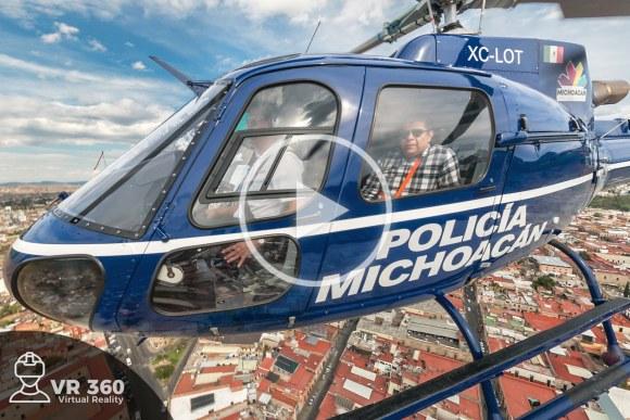 Helicóptero Bell Policía