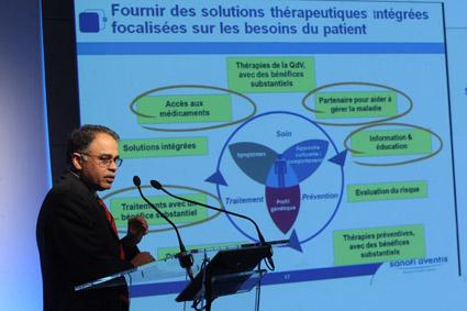 SŽéminaire de lancement de BU oncologie