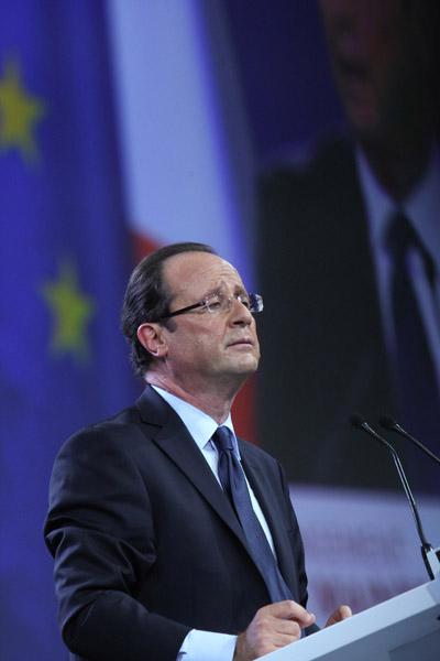 Premier grand meeting national de Franois Hollande (Parti Socialiste) - PréŽsidentielles 2012