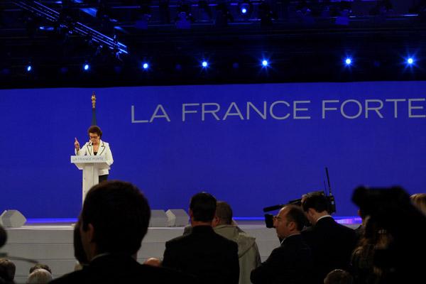 Reunion publique nationale de Nicolas Sarkozy (UMP) -  Presidentielles 2012