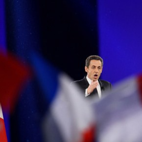 Présidentielles 2012 – UMP Réunion publique nationale du président Nicolas Sarkozy, candidat à sa ré-élection au Parc des Expositions de Villepinte, 11/03/2012