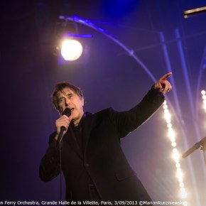 Bryan Ferry & The Bryan Ferry Orchestra, Grande Halle de la Villette, Paris, 3/09/2013