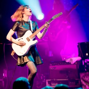 Sleater-Kinney, La Cigale, Paris, 20/03/2015