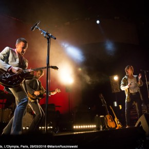 Jeff Wootton & The Last Shadow Puppets, L'Olympia, Paris, 29/03/2016