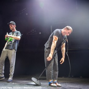 Sleaford Mods, La Gaîté Lyrique, Paris, 23/05/2017