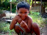 photo of a cambodian child