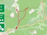 top-of lunas and joncels mountain bike route map