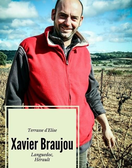 Portrait de vigneron : Xavier Braujou, la Terrasse d'Elise (Hérault, Languedoc)