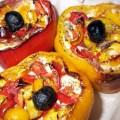 photo des poivrons farcis à la brandade de Nimes