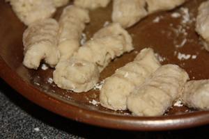 photo gnocchi après mise en forme