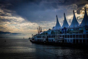 Landscape photo of the Vancouver Waterfront
