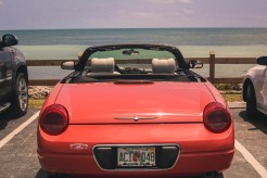 Car in Bahia Honda State Park