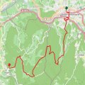 vaison la romaine seguret hike map