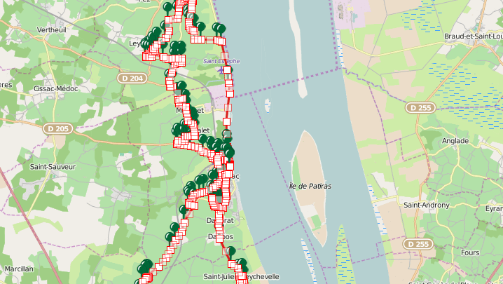 31st Médoc Marathon route map revealed! (GPS track) – September 12th, 2015