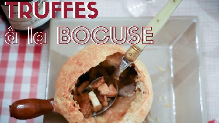 La soupe aux truffes à la Bocuse