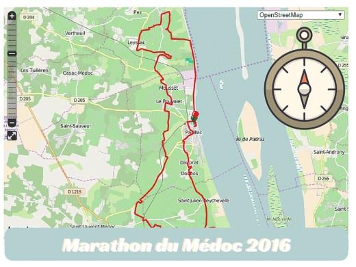 2016 medoc marathon route map