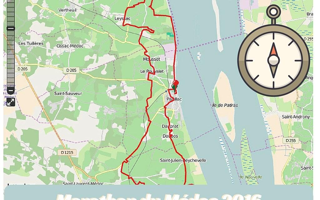 Circuit GPS du marathon du Médoc 2016