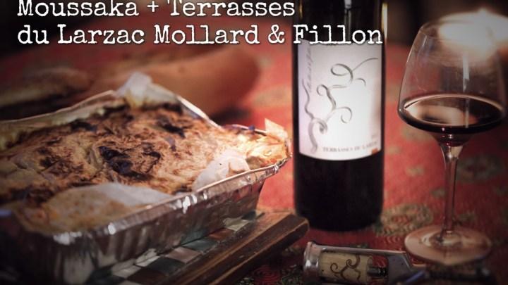 1 recette 1 vin : Moussaka + Terrasses du Larzac Mollard et Fillon