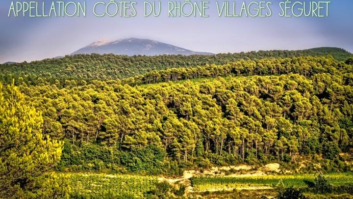(Français) L'appellation Côtes du Rhône Villages Séguret