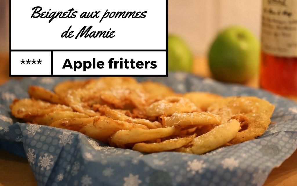 Les beignets aux pommes de Mamie (old school inside)