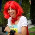 Marion Barral au marathon du Médoc