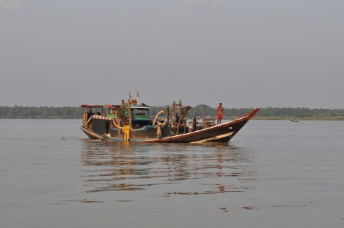 Croisiere Hpa an Mawlamyine bateau 1