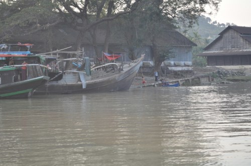 Croisiere Hpa an Mawlamyine village 2