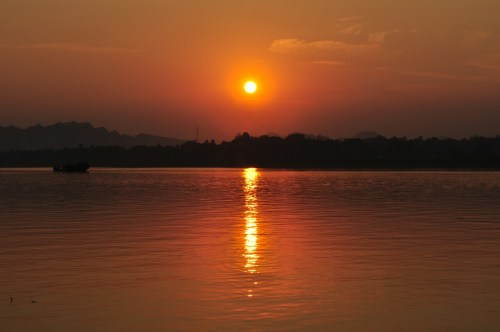 Hpa-an coucher du soleil 1