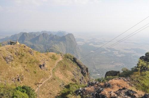 Hpa-an vue Mont Zwekabin 5