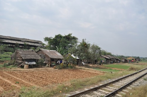 Paysages Yangon Train Circle 2