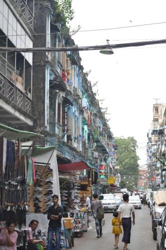 Rue de Yangon