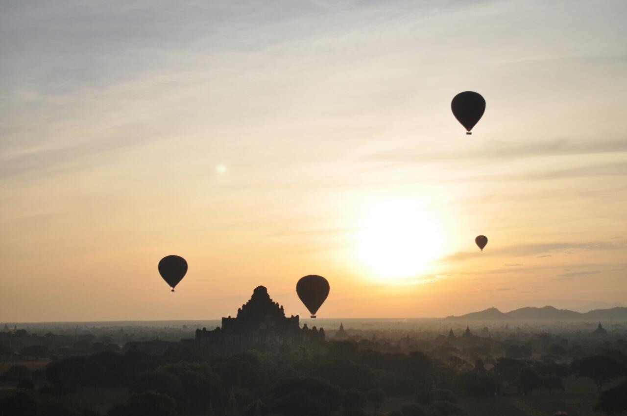 Bagan : une partie de la magie du Myanmar