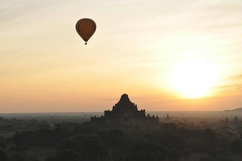 lever du soleil Bagan 5