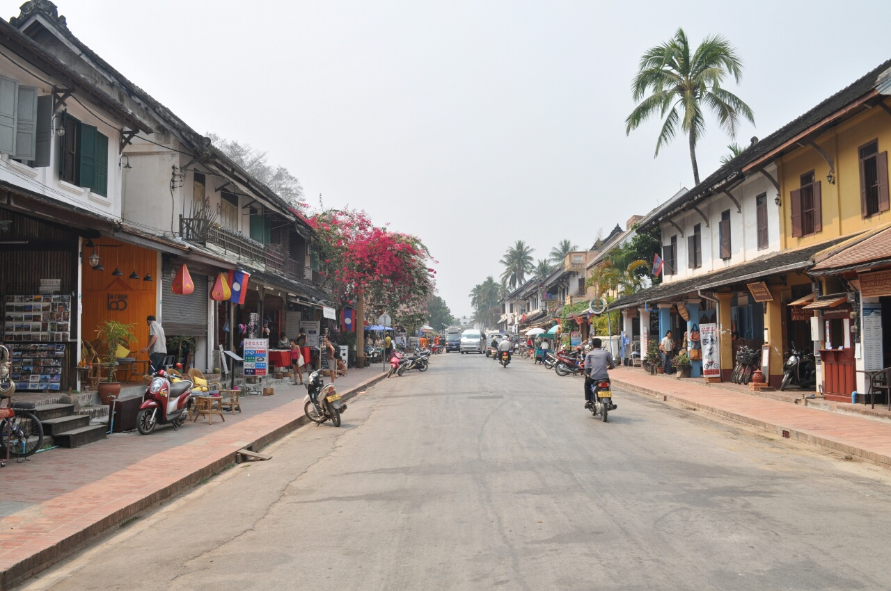 Luang Prabang : comme un air de France