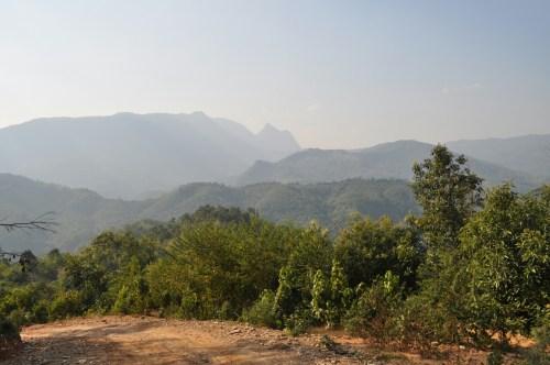 Trek Muang Ngoi paysages