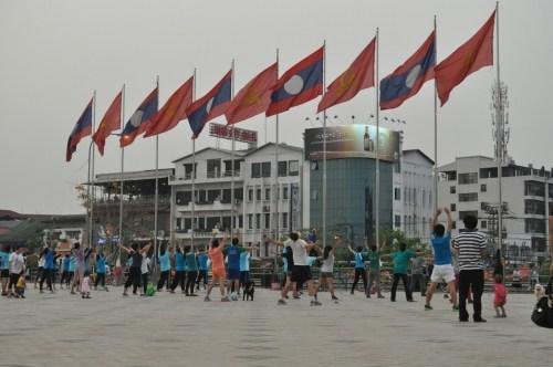 Vientiane cours de fitness